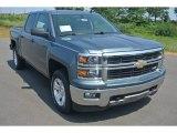 2014 Blue Granite Metallic Chevrolet Silverado 1500 LT Crew Cab 4x4 #95363873