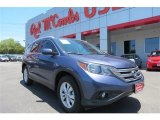 2013 Twilight Blue Metallic Honda CR-V EX-L #95390939