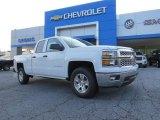 2014 Summit White Chevrolet Silverado 1500 LT Double Cab #95391099