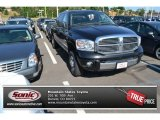 2008 Brilliant Black Crystal Pearl Dodge Ram 1500 Laramie Mega Cab 4x4 #95390852
