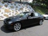 2014 Jet Black BMW 3 Series 335i xDrive Sedan #95391417