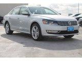 2014 Reflex Silver Metallic Volkswagen Passat TDI SEL Premium #95391336