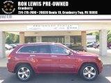 2014 Deep Cherry Red Crystal Pearl Jeep Grand Cherokee Overland 4x4 #95390984
