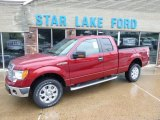 2014 Ruby Red Ford F150 XLT SuperCab 4x4 #95391322