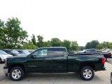 2014 Rainforest Green Metallic Chevrolet Silverado 1500 LT Crew Cab 4x4 #95391385