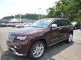 2014 Deep Auburn Pearl Jeep Grand Cherokee Summit 4x4 #95391133