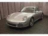 2007 Arctic Silver Metallic Porsche 911 Carrera 4S Coupe #9100740