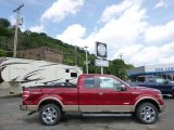 2014 Ruby Red Ford F150 XLT SuperCab 4x4 #95390955