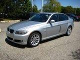 2009 Titanium Silver Metallic BMW 3 Series 328xi Sedan #9110855