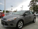 2014 Sterling Gray Ford Focus SE Hatchback #95390951