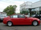 2009 Crimson Red BMW 3 Series 328xi Sedan #9187162