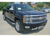 2014 Black Chevrolet Silverado 1500 High Country Crew Cab 4x4 #95391280