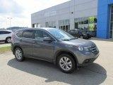 2012 Polished Metal Metallic Honda CR-V EX 4WD #95391277