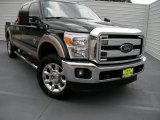 2012 Green Gem Metallic Ford F250 Super Duty Lariat Crew Cab 4x4 #95426898