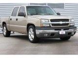 2005 Sandstone Metallic Chevrolet Silverado 1500 LS Crew Cab #95427102
