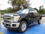 2015 Tuxedo Black Ford F250 Super Duty Lariat Crew Cab 4x4 #95426687