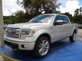 2014 Ingot Silver Ford F150 Lariat SuperCrew 4x4 #95426685