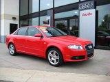 2008 Brilliant Red Audi A4 2.0T quattro Sedan #9242436