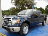 2014 Blue Jeans Ford F150 Lariat SuperCrew #95426682