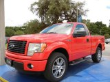 2014 Race Red Ford F150 STX Regular Cab #95426677