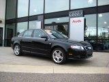 2008 Brilliant Black Audi A4 2.0T quattro Sedan #9242437