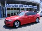 2006 Electric Red BMW 3 Series 325i Sedan #9247506