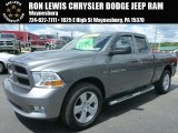 2012 Mineral Gray Metallic Dodge Ram 1500 ST Quad Cab 4x4 #95426859