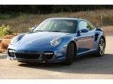 2007 Cobalt Blue Metallic Porsche 911 Turbo Coupe #95469193