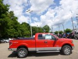 2014 Race Red Ford F150 XLT SuperCab 4x4 #95468783