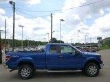 2014 Blue Flame Ford F150 XLT SuperCab 4x4 #95468782