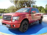 2014 Ruby Red Ford F150 FX4 SuperCrew 4x4 #95468763