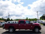 2015 Ruby Red Ford F250 Super Duty Platinum Crew Cab 4x4 #95468693