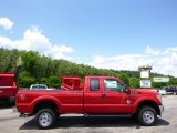 2015 Vermillion Red Ford F250 Super Duty XL Super Cab 4x4 #95468692