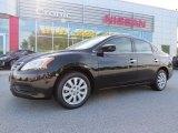 2014 Super Black Nissan Sentra S #95468997