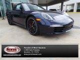 2014 Porsche 911 Dark Blue Metallic