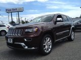 2014 Deep Auburn Pearl Jeep Grand Cherokee Summit 4x4 #95468654