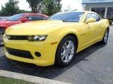 2015 Bright Yellow Chevrolet Camaro LS Coupe #95510397