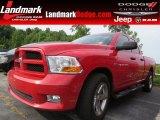2012 Flame Red Dodge Ram 1500 ST Quad Cab #95510668