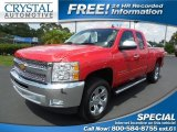 2012 Victory Red Chevrolet Silverado 1500 LT Extended Cab #95510947
