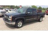 2005 Black Chevrolet Silverado 1500 Z71 Extended Cab 4x4 #95510932