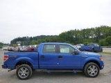 2014 Blue Flame Ford F150 STX SuperCrew 4x4 #95510512