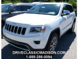 2014 Bright White Jeep Grand Cherokee Limited 4x4 #95510906