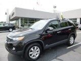 2012 Dark Cherry Kia Sorento LX AWD #95510828