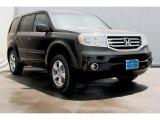 2014 Crystal Black Pearl Honda Pilot EX-L 4WD #95510701