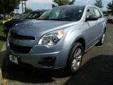 2014 Silver Topaz Metallic Chevrolet Equinox LS #95510424