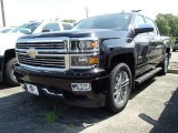 2014 Black Chevrolet Silverado 1500 High Country Crew Cab 4x4 #95510423
