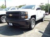 2014 Summit White Chevrolet Silverado 1500 WT Regular Cab #95510416
