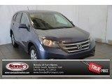 2014 Twilight Blue Metallic Honda CR-V EX #95556593