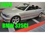 2004 Titanium Silver Metallic BMW 3 Series 325i Convertible #95556559