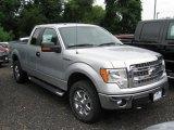 2014 Ingot Silver Ford F150 XLT SuperCab 4x4 #95577649